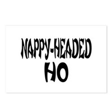 Nappy Headed Ho French Design Postcards (Package o