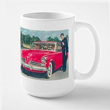 Red Studebaker on RH Mug