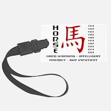 horseA52light Luggage Tag