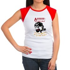 Arrrr Talk like a Pirat Women's Cap Sleeve T-Shirt