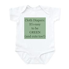 Cloth Diapering Infant Bodysuit