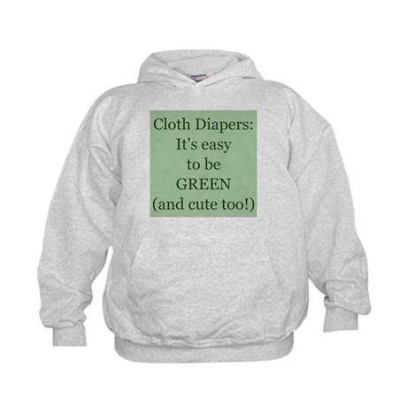 Cloth Diapering Kids Hoodie