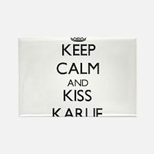 Keep Calm and kiss Karlie Magnets