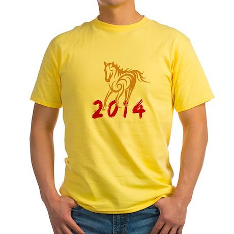 horseA48dark Yellow T-Shirt