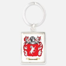 Voorhees Family Crest (Coat of A Portrait Keychain