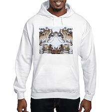 Howling Wolf flip flops Hoodie