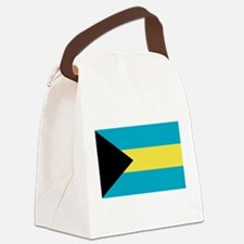bahamas-flag.png Canvas Lunch Bag