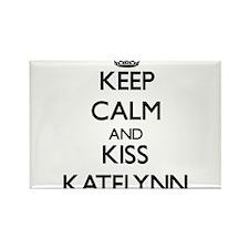 Keep Calm and kiss Katelynn Magnets