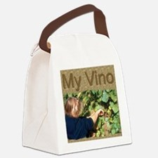 My Wine Label Canvas Lunch Bag