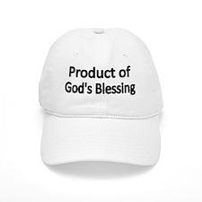 Product of Gods Blessing 2 Baseball Cap