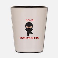 Ninja Chiropractor Shot Glass
