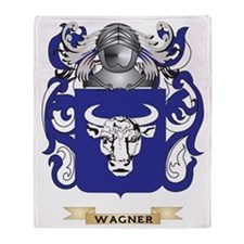 Wagner Family Crest (Coat of Arms) Throw Blanket