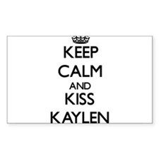 Keep Calm and kiss Kaylen Decal