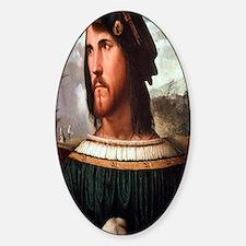 Cesare Borgia Sticker (Oval)