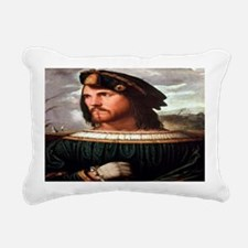 Cesare Borgia Rectangular Canvas Pillow
