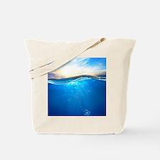Underwater Ocean Tote Bag