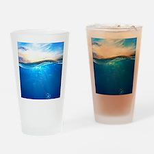 Underwater Ocean Drinking Glass