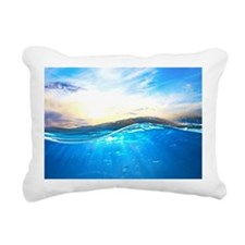 Underwater Ocean Rectangular Canvas Pillow