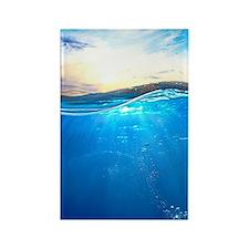 Underwater Ocean Rectangle Magnet