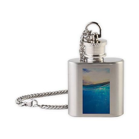 Underwater Ocean Flask Necklace