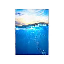 Underwater Ocean 5'x7'Area Rug