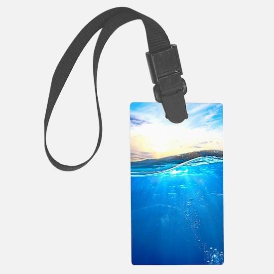 Underwater Ocean Luggage Tag