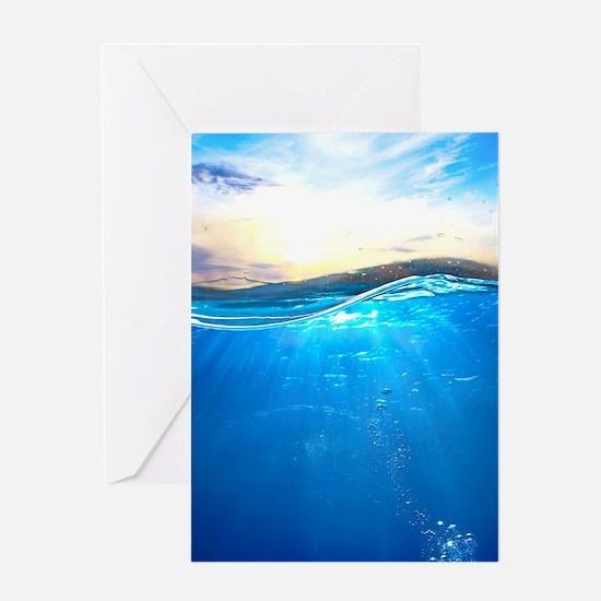 Underwater Ocean Greeting Card