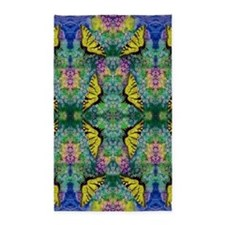 Swallowtails 3'X5' Area Rug