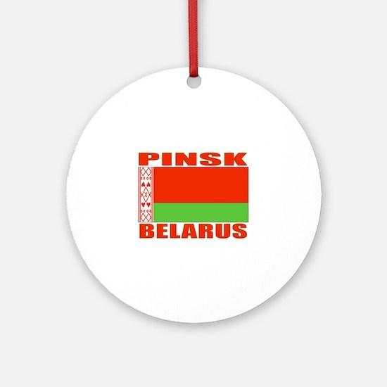 Pinsk, Belarus Ornament (Round)