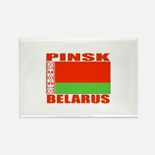 Pinsk, Belarus Rectangle Magnet