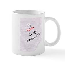 Saluki Homework Coffee Mug