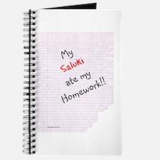 Saluki Homework Journal