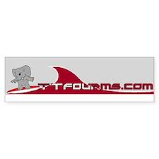 Tide-Talk Bumper Bumper Sticker