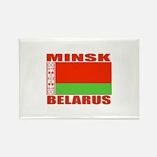 Minsk, Belarus Rectangle Magnet