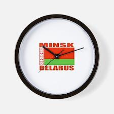 Minsk, Belarus Wall Clock