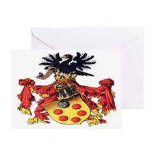 Medici Coat of Arms Greeting Card