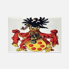 Medici Coat of Arms Rectangle Magnet
