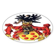 Medici Coat of Arms Bumper Stickers
