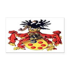 Medici Coat of Arms Rectangle Car Magnet
