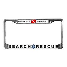 Rescue Diver Plate