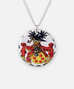 Medici Coat of Arms Necklace