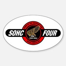 SOHC/4 10Th Anniversary Oval Decal