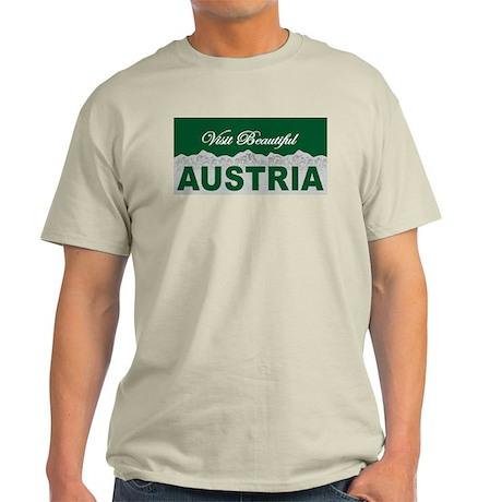 Visit Beautiful Austria Light T-Shirt