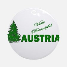 Visit Beautiful Austria Ornament (Round)