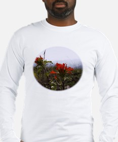 Photograph and Digital Design Long Sleeve T-Shirt