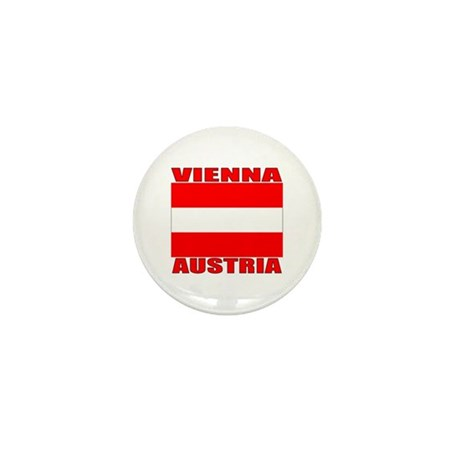 Vienna, Austria Mini Button (100 pack)