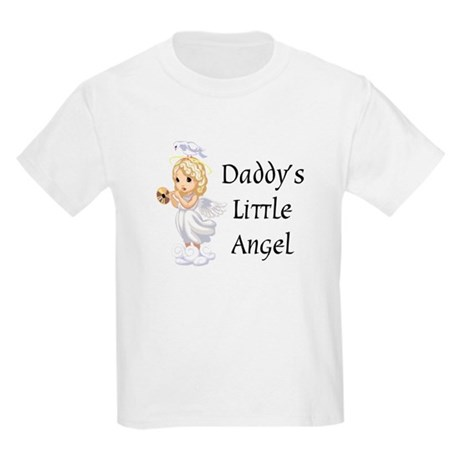 Daddy's Little Angel Kids Light T-Shirt