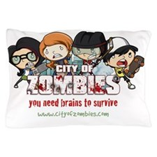 City of Zombies Pillow Case