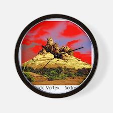 Bell Rock Vortex Sedona, AZ  (BRV6) Wall Clock