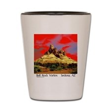 Bell Rock Vortex Sedona, AZ  (BRV6) Shot Glass